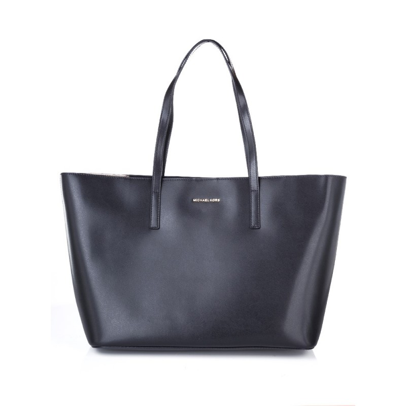 Michael Kors Black Large Emry Tote Bag