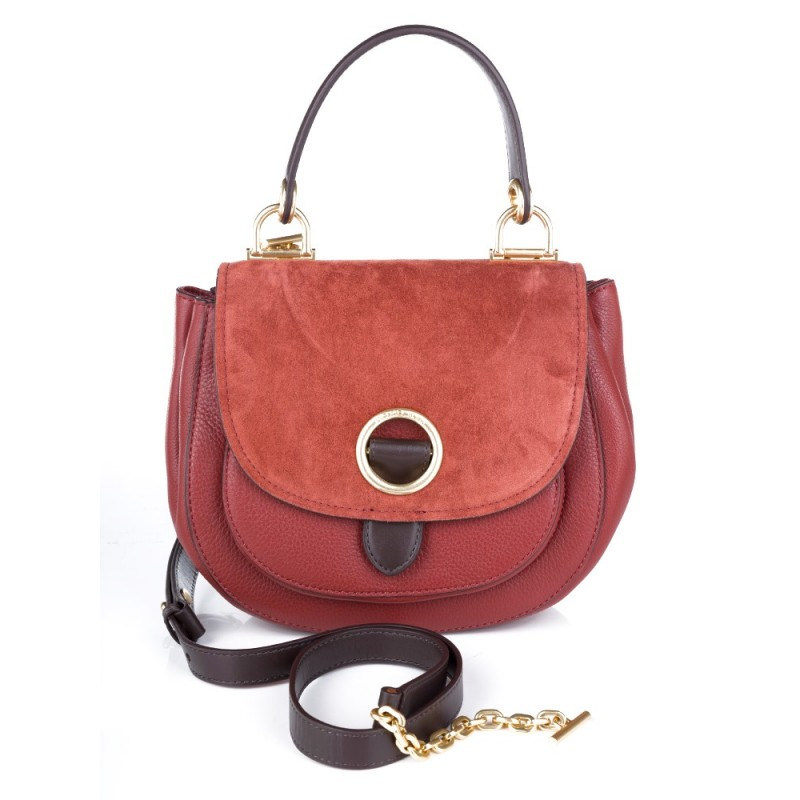Michael Kors Burgundy Medium Messenger Bag