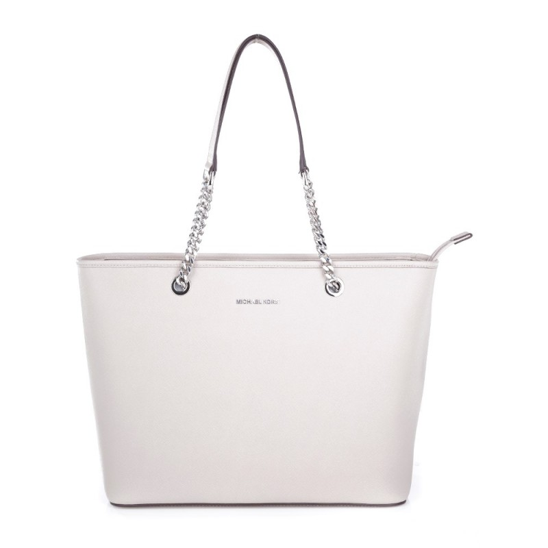 Michael Kors Grey Jet Set Chain Tote Bag