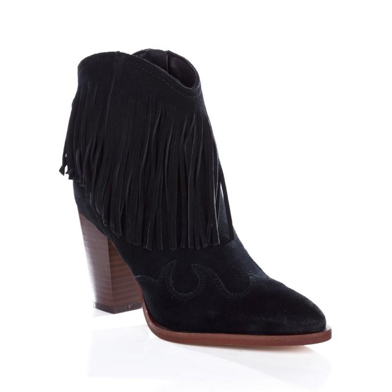 Sam Edelman Black Benjie Tassel Boot