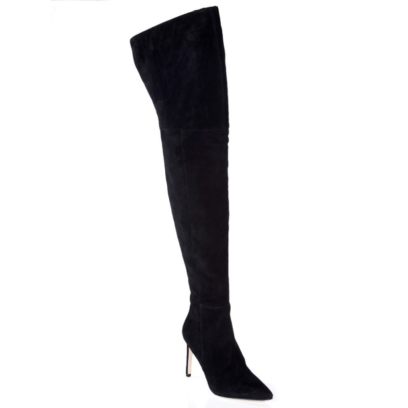 Sam Edelman Black Bernadette Over The Knee Boots
