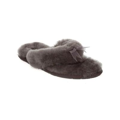 UGG Grey Fluff Flip Flop