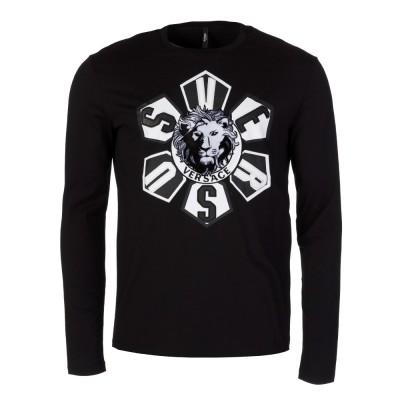 Versus Versace Black Lion Logo T-Shirt
