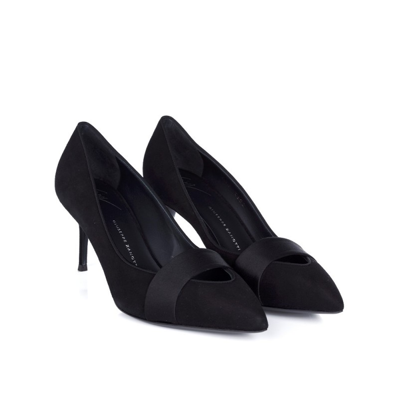 GIUSEPPE ZANOTTI BLACK POINT HIGH HEEL