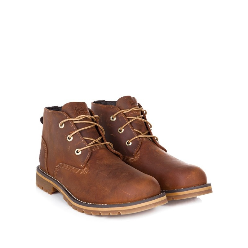 TIMBERLAND BROWN LARCHMONT CHUKKA BOOT