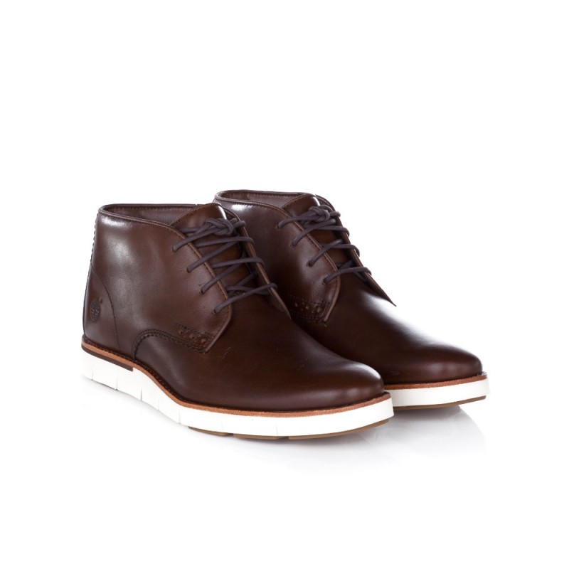 TIMBERLAND BROWN PRESTON HILLS CHUKKA BOOT