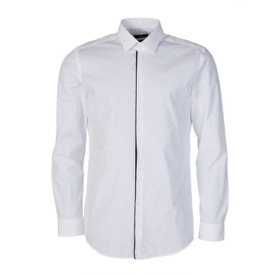Boss by Hugo Boss White Contrast Trim Shirt