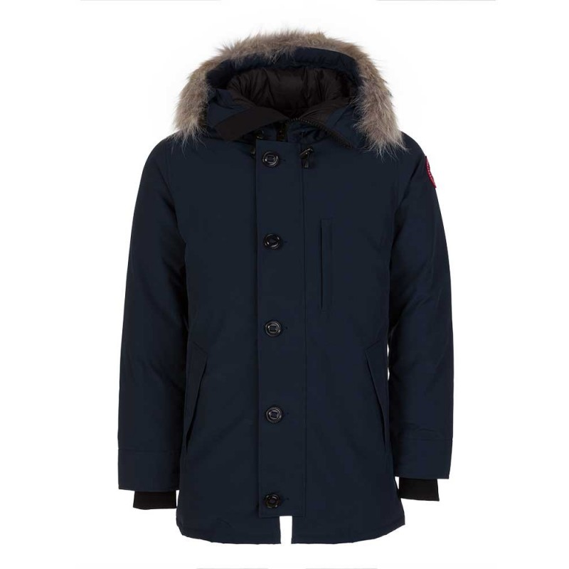 Canada Goose Ink Blue Chateau Parka Jacket