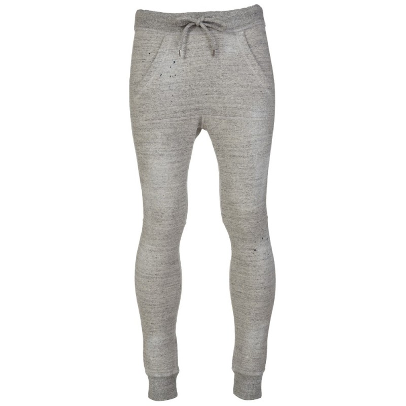 DSquared2 Grey Distressed Sweatpants