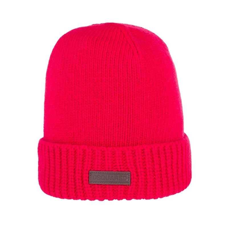 DSquared2 Junior Red Beanie Hat
