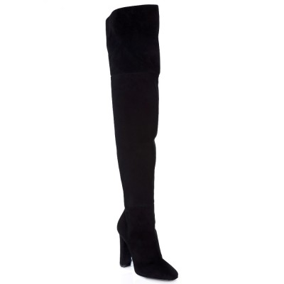 Giuseppe Zanotti Black Alabama Over the Knee Boots