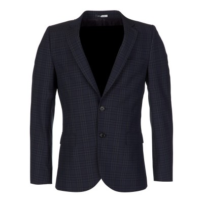 Paul Smith Navy Check Suit Jacket
