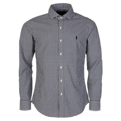 Polo Ralph Lauren Black Gingham Slim Fit Shirt