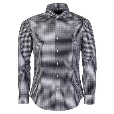 Polo Ralph Lauren Black Gingham Slim Fit Shirt