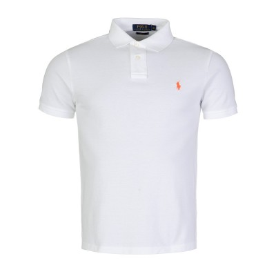 Polo Ralph Lauren White Slim Fit Polo Shirt