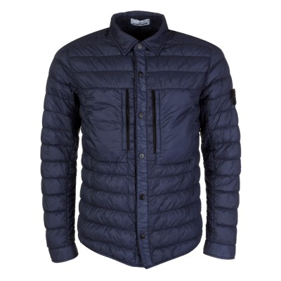 Stone Island Navy Quilted Jacket