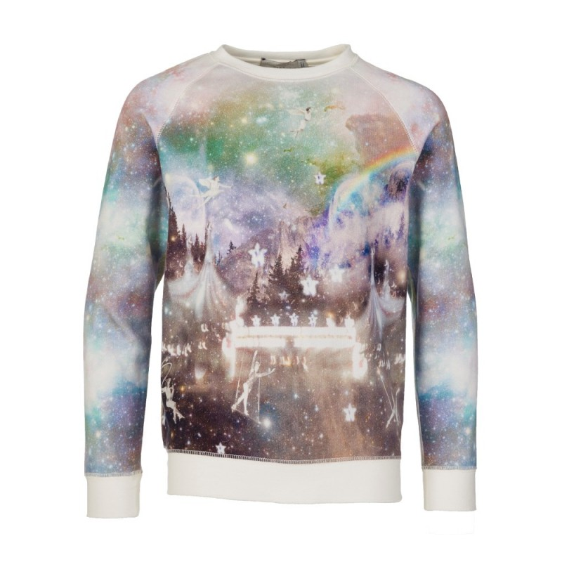 Stella McCartney Kids Cream Circus Sweater