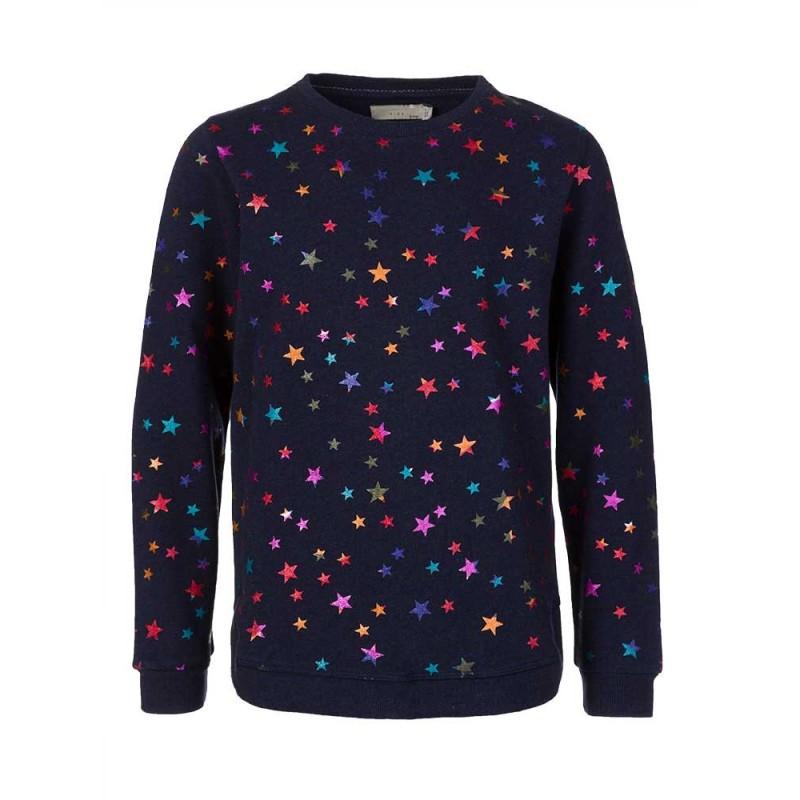 Stella McCartney Kids Navy Star Print Sweatshirt