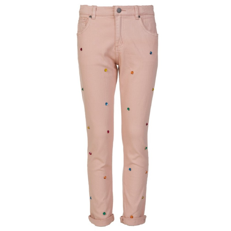 Stella McCartney Kids Pink Lohan Diamante Trousers