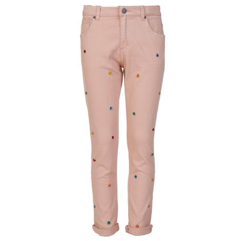 Stella McCartney Kids Pink Lohan Diamante Trousers