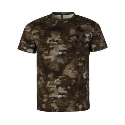 Versus Versace Khaki Camouflage Lion T-Shirt