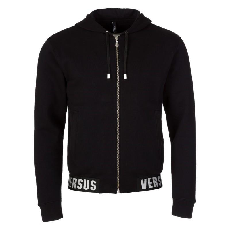 Versus Versace Black Versace Band Sweatshirt