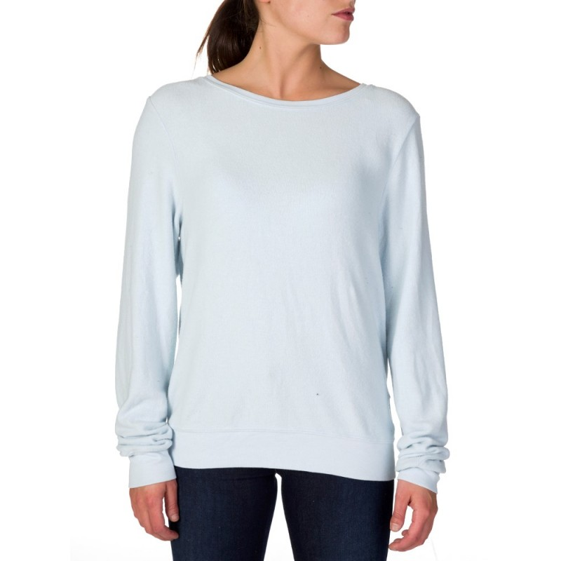 Wildfox Sky Blue Beach Jumper