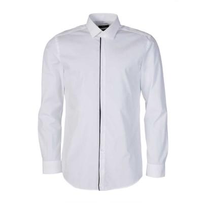 Boss by Hugo Boss White Contrast Trim Shirt