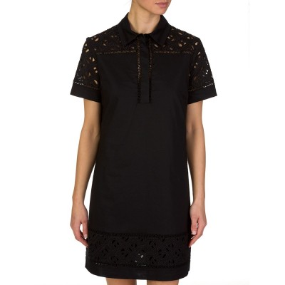 Kenzo Black Flying Logo Dress