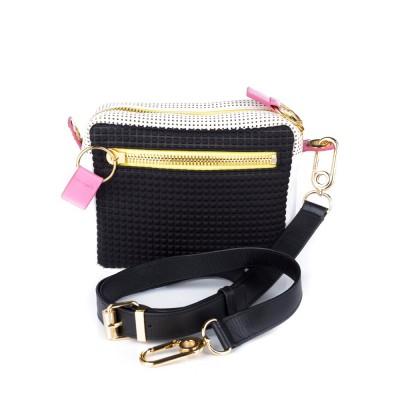 Kenzo Black Logo Shoulder Bag