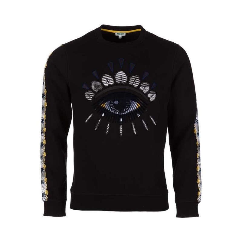 kenzo-black-optical-eye-sweatshirt
