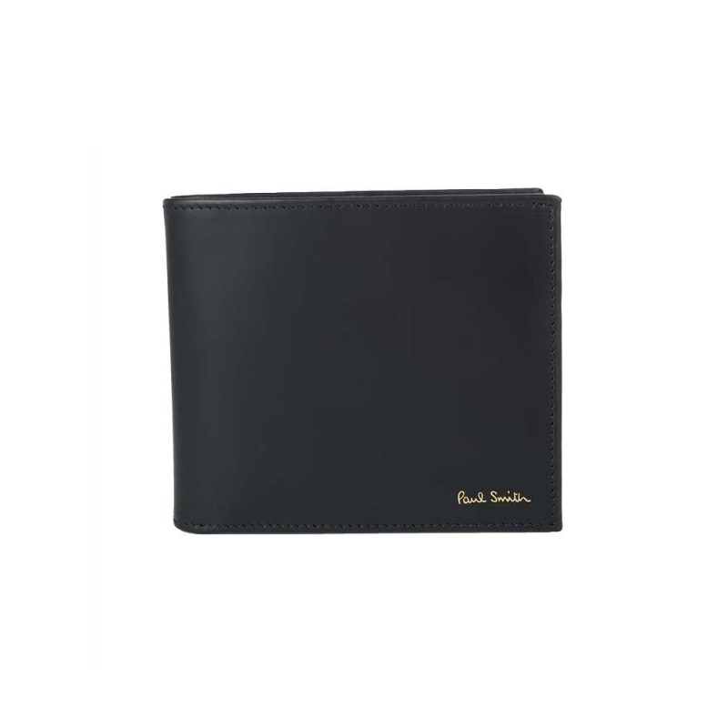 Paul Smith Accessories Black Coin Pocket Wallet
