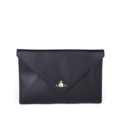 Vivienne Westwood Black Borset Clutch Bag