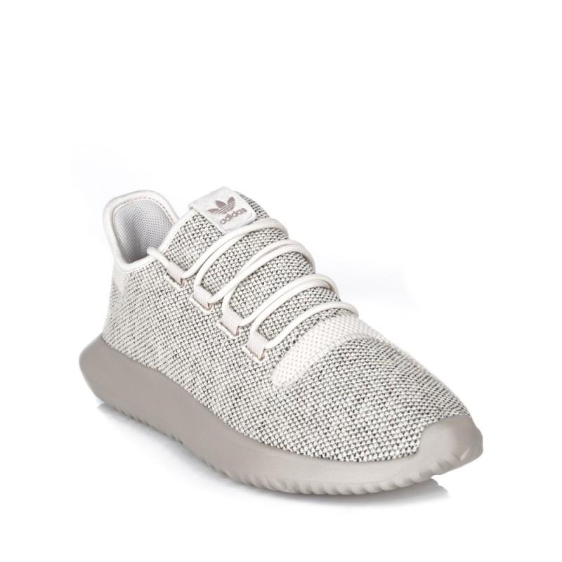 Adidas Cream Tubular Shadow Knit Trainers