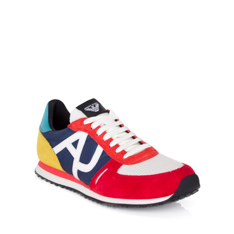 Armani Jeans Multicoloured Running Trainers