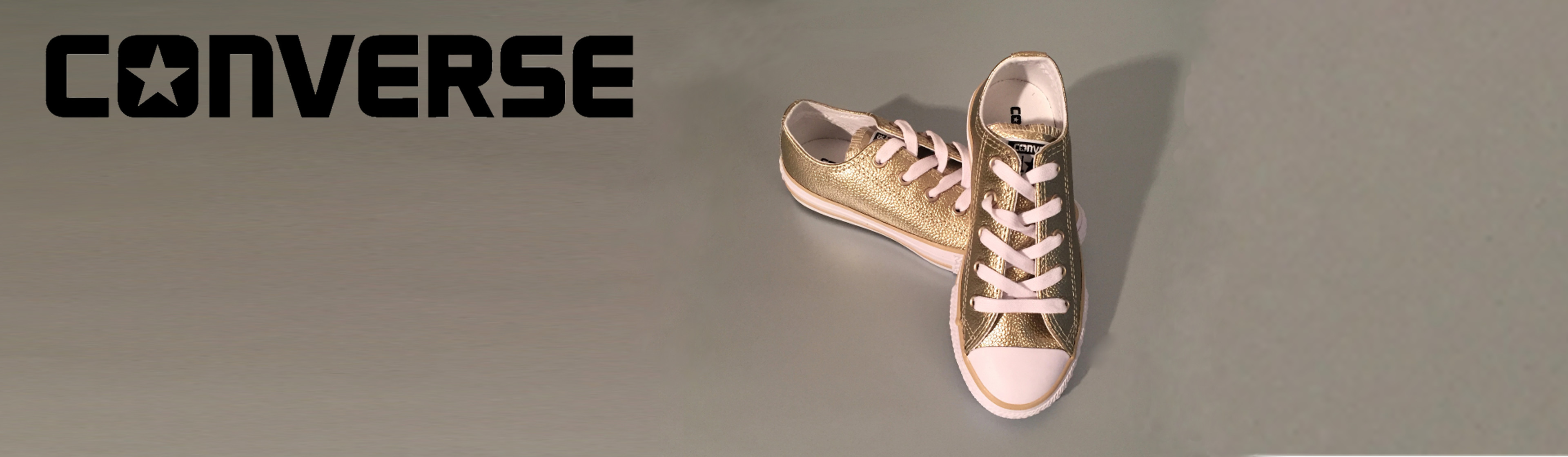 Staff Pick: Converse Junior Metallic Trainers