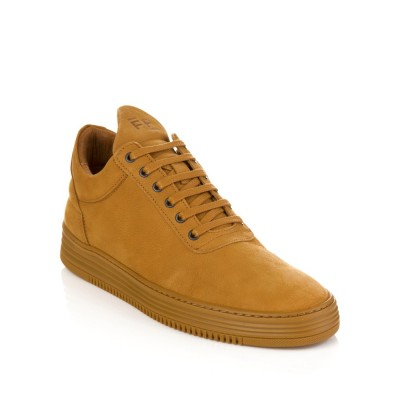 Filling Pieces Brown Low Top Flush Trainers