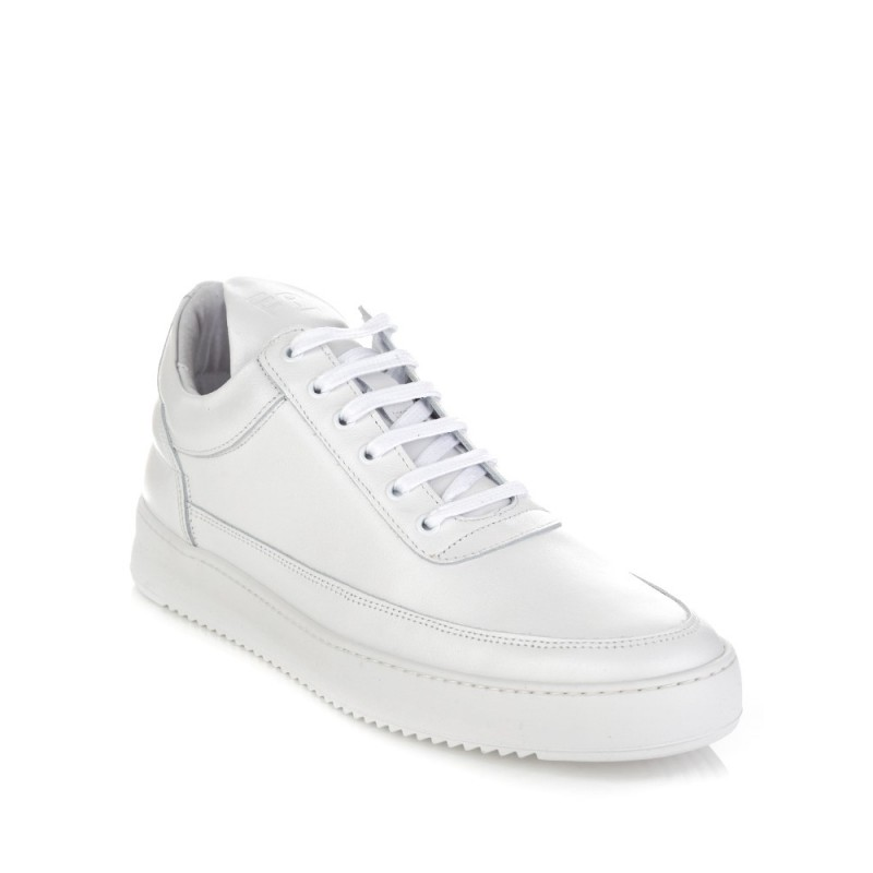 Filling Pieces White Low Top Fundament Trainers