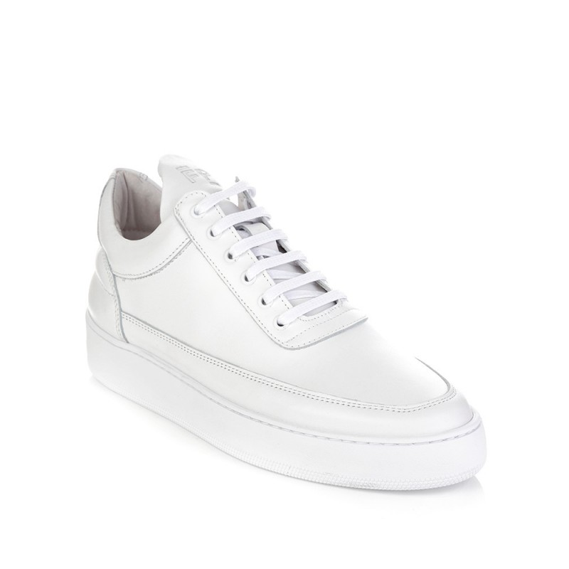 Filling Pieces White Low Top GF Trainers