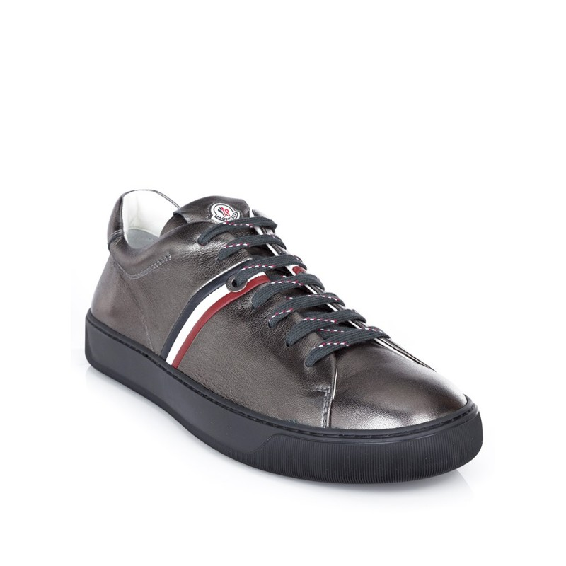 Moncler Silver Metallic Vallouise Trainers