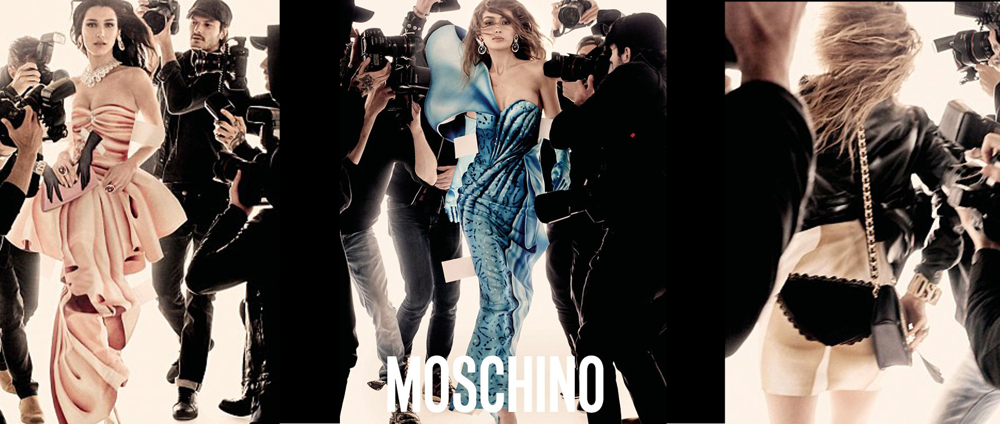 Hadid Sisters Star in Moschino's SS17 Campaign