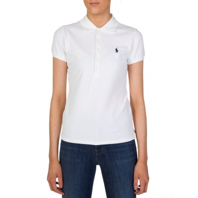 Polo Ralph Lauren White Julie Polo Shirt