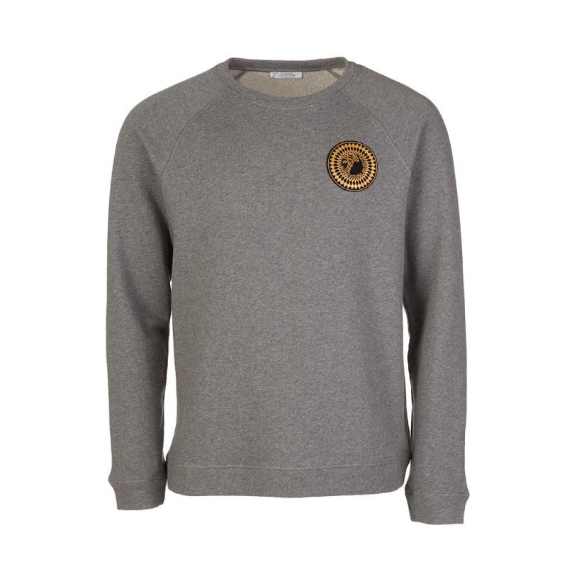 Versace Collection Grey Medusa Logo Sweatshirt