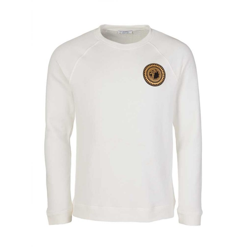 Versace Collection White Medusa Logo Sweatshirt