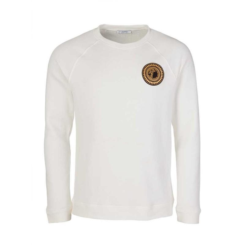 Versace Collection White Medusa Logo Sweatshirt