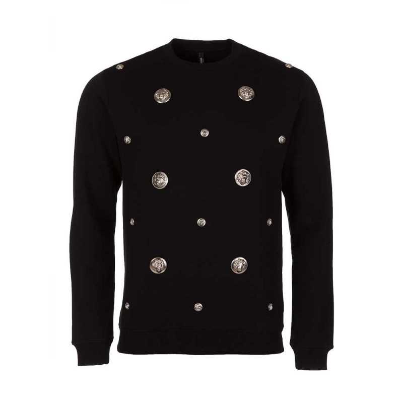 Versus Versace Black Multi Ball Sweatshirt