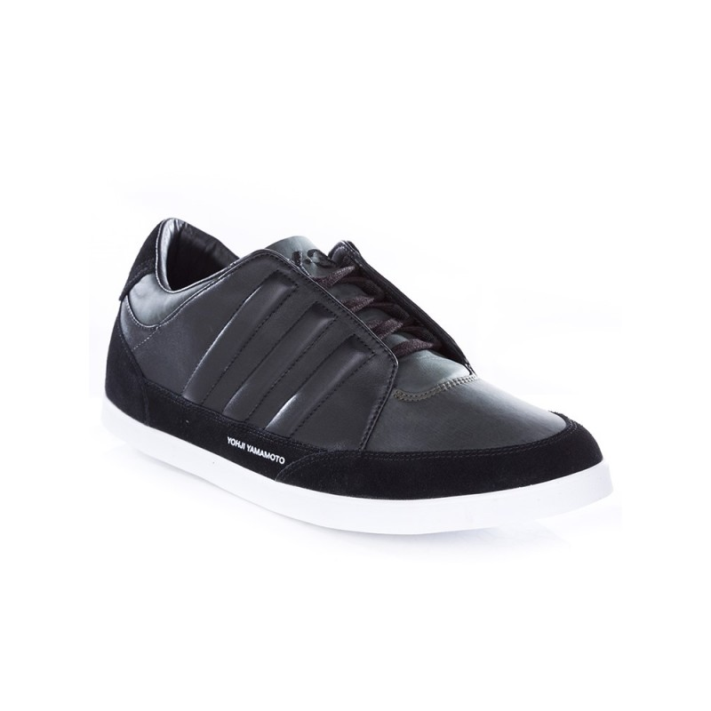 Y-3 Black Honja Leather Trainers