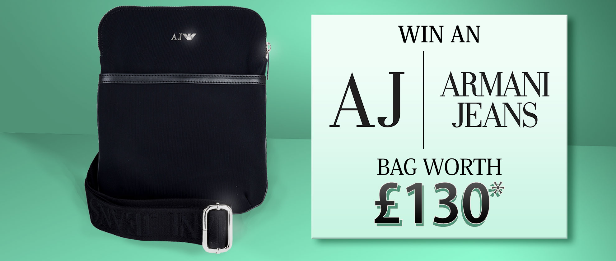 Win an Armani Jeans Bag Worth £130!
