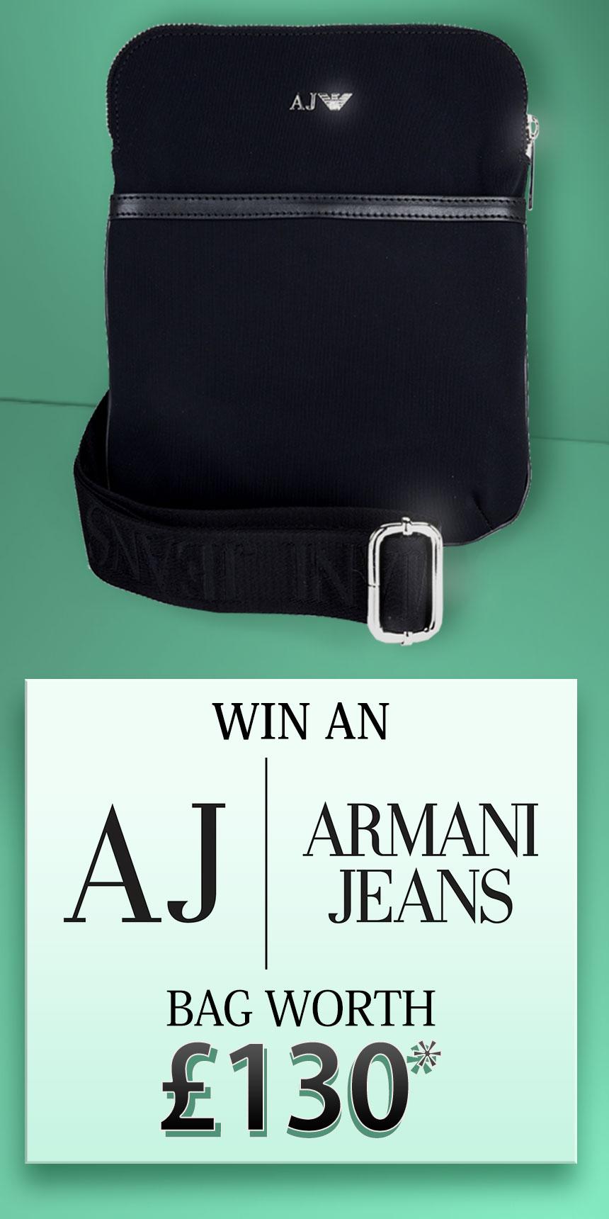 Win an Armani Jeans Bag Worth £130!