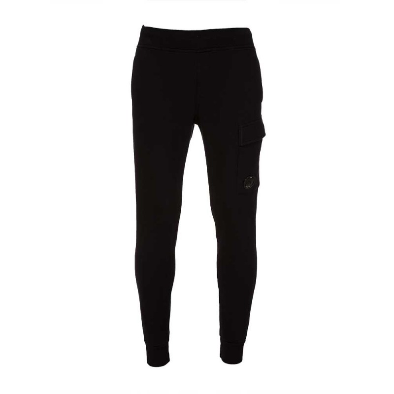 C.P Company Black Lens Sweatpants